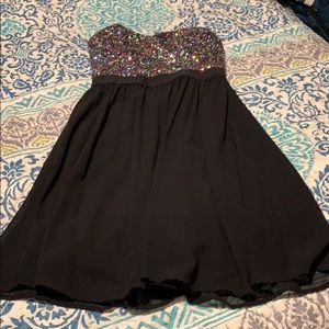 Forever 21 strapless dress size xs